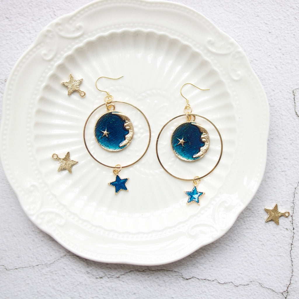 Milky Way Drop Earrings