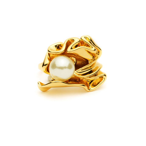 Gold Flora Wonderland Ring