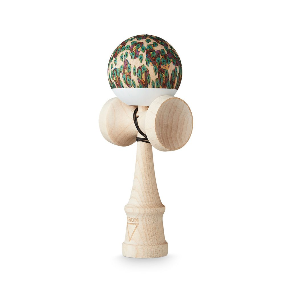 KROM Kendama - Naked Pelle Maple - Kendama-Senses Nederland