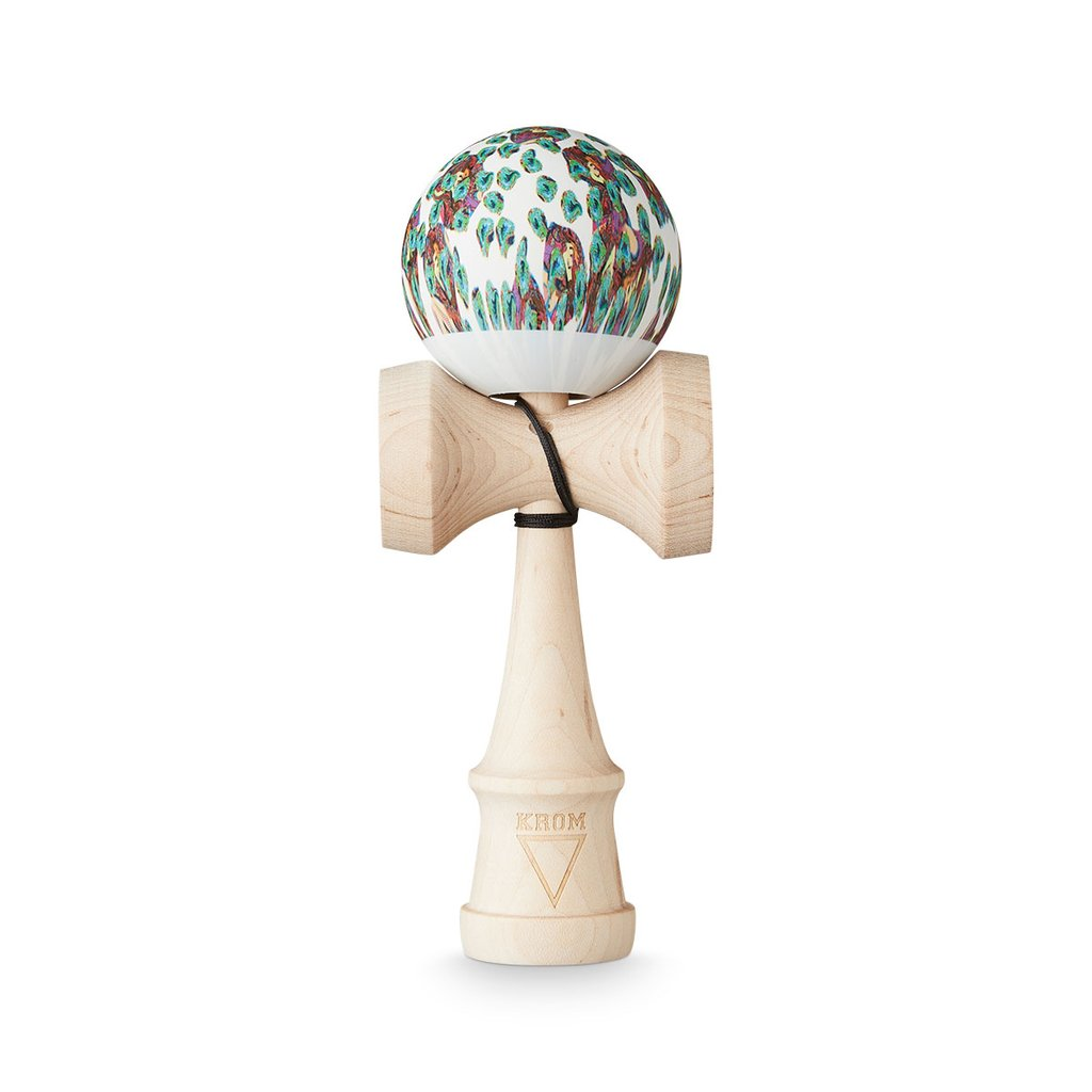 KROM Kendama - Maple Party Pelle (Limited) - Kendama-Senses Nederland