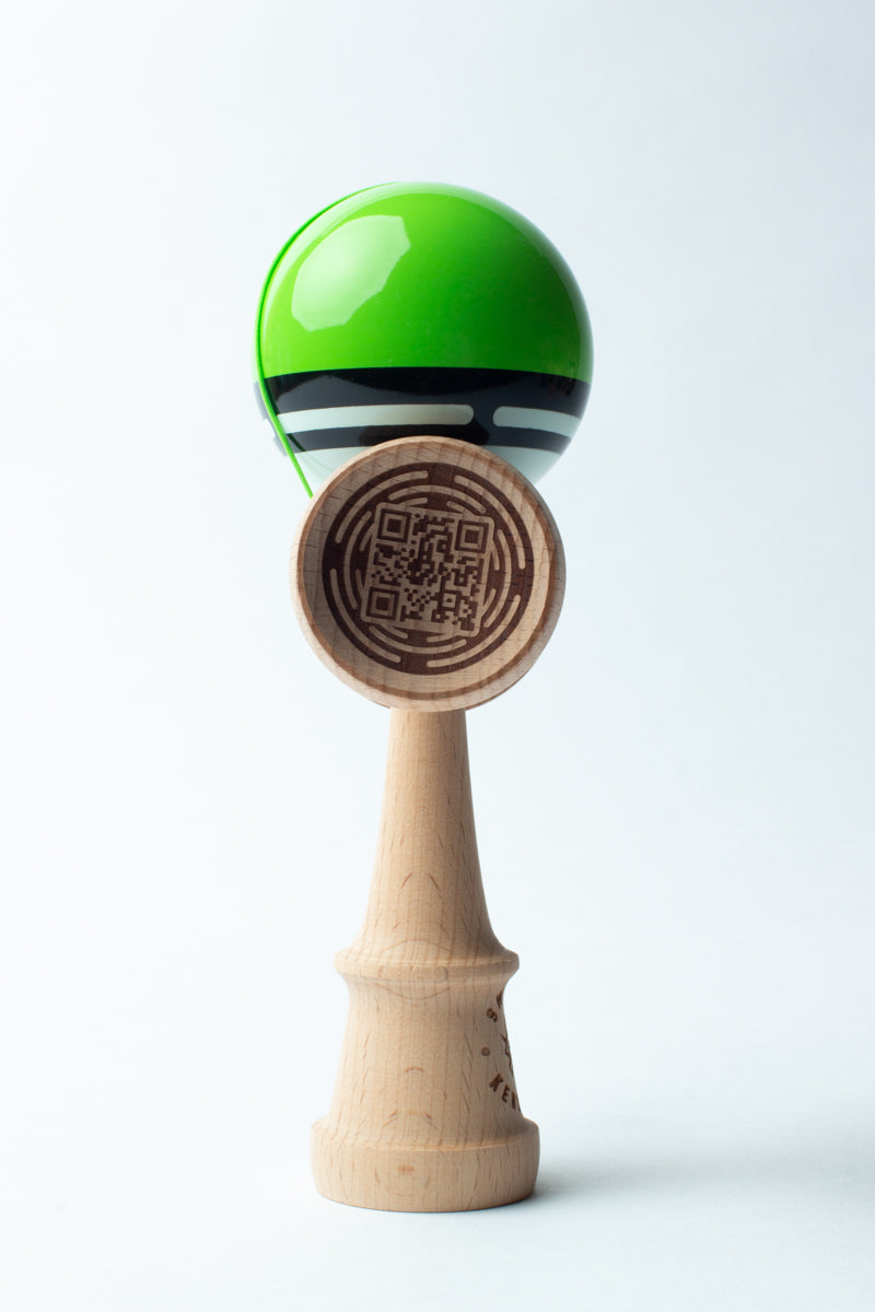 BOOST RADAR GREEN - SWEETS KENDAMAS - Kendama-Senses Nederland