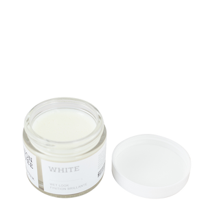 White Wet Look Pomade / Pommade finition brillante
