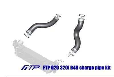 FTP Motorsport - G20 320i B48 air cooler charge pipe kit (2020)