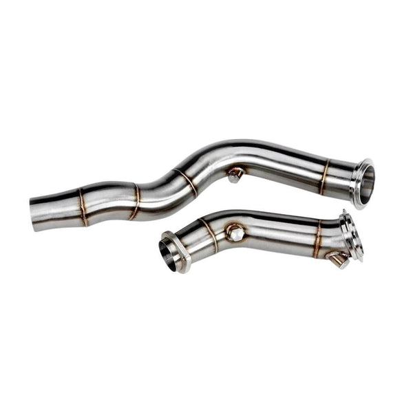VRSF 3″ Cast Catless Downpipes S55 - M3, M4 & M2 Competition