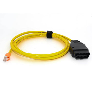 BMW ENET Cable - OBD OBDII Interface E-SYS for BMW Diagnostics and Coding