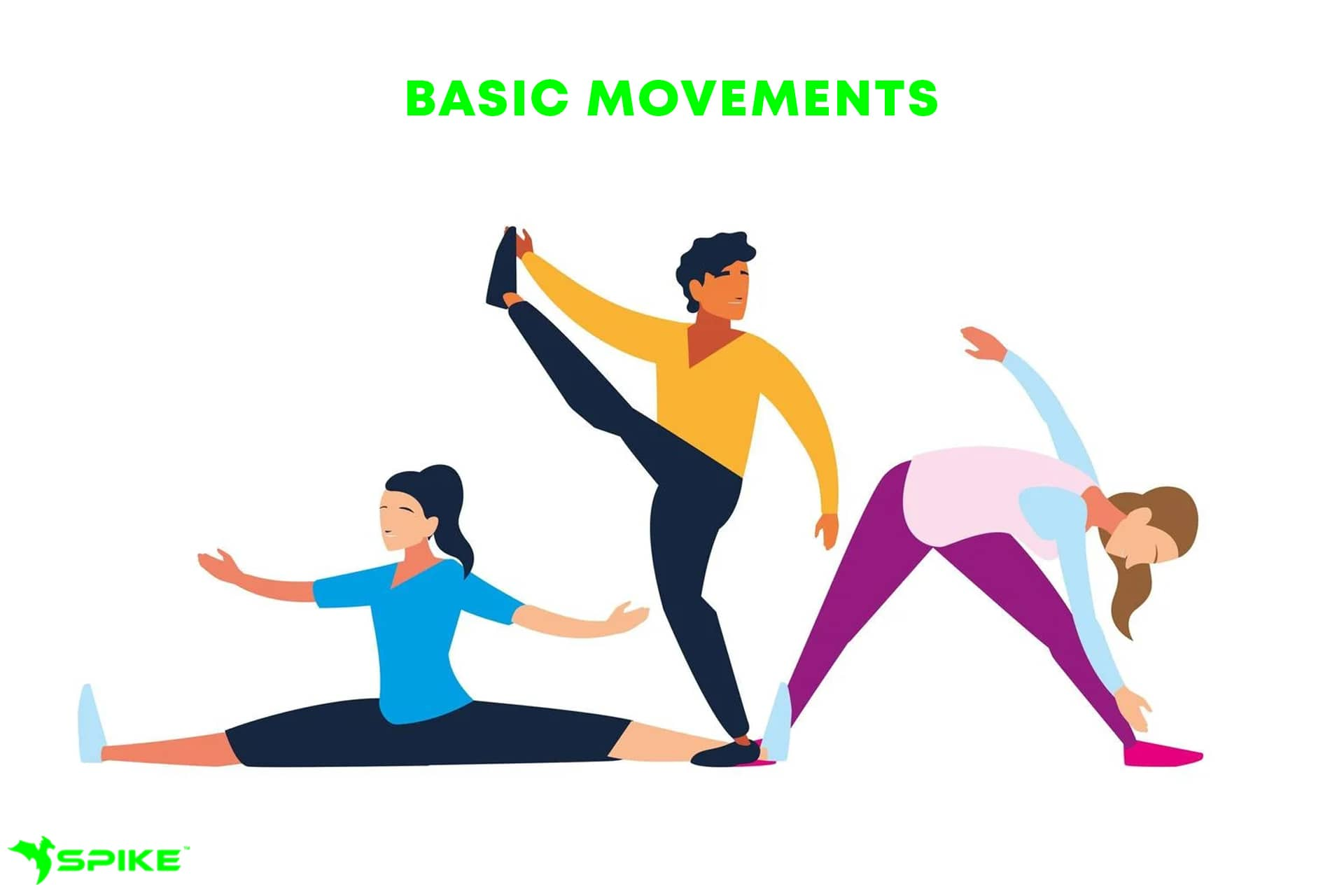 There Are Five Basic Movements