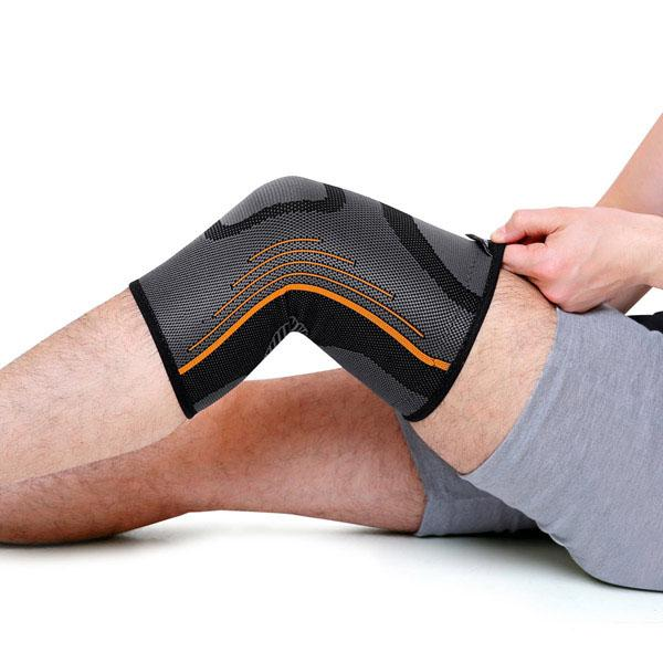 Spike Knee Cap Support for Men and Women (Orange) - Spike