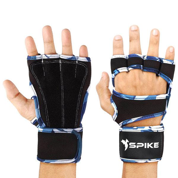 Spike Gym Gloves With Wrist Support for Men and Women