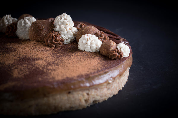 The Banoffee Vegan and Gluten Free Cheesecake