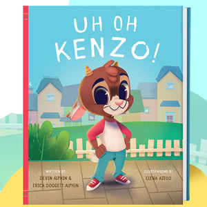 Uh Oh Kenzo! Book