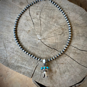 18in Blossom & Navajo Pearl Necklace