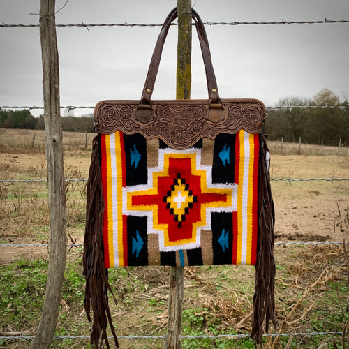 Albuquerque Saddle Blanket Bag