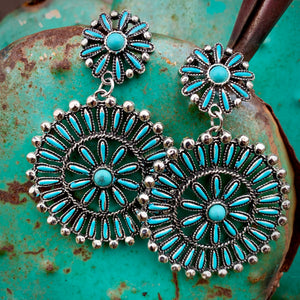 Spiny Turquoise Clusters