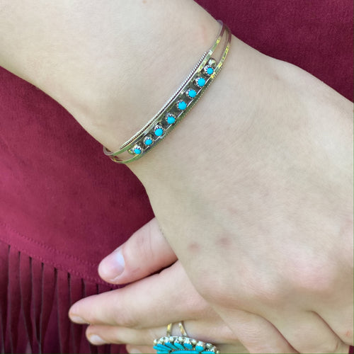 Dainty Turquoise Cuff
