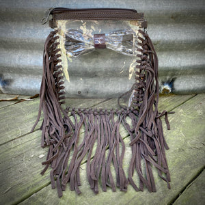 Dark Fringe Clear Bag