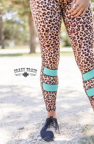 Crazy Leopard Leggings