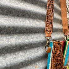Load image into Gallery viewer, Tooled Serape Crossbody