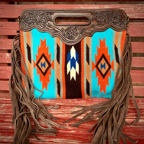 Amarillo Saddle Blanket Bag