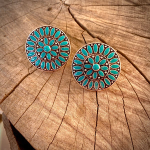 Cluster Post Earrings