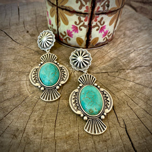 Shoreline Turquoise Earrings