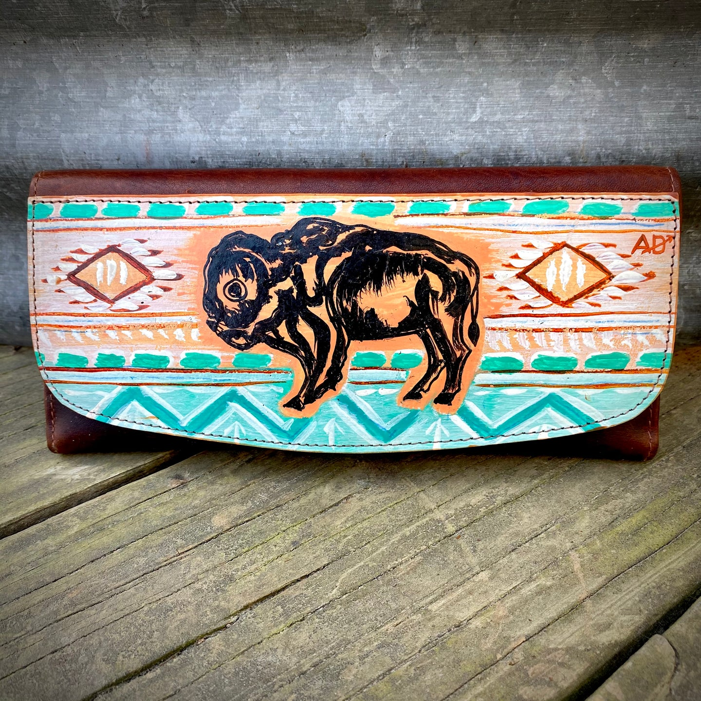 Buffalo Trifold Wallet