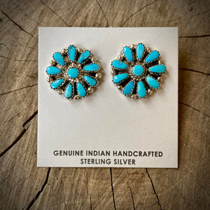 Authentic Cluster Earrings