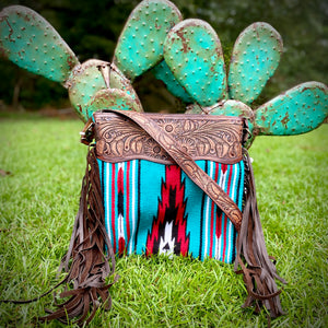 Reign Saddle Blanket Bag