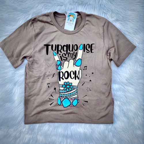 Turquoise Is My Rock Tee