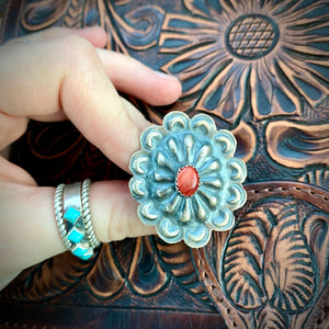 Spiny Oyster Concho Ring