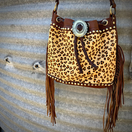 Leopard Concho Concealed Carry Bag
