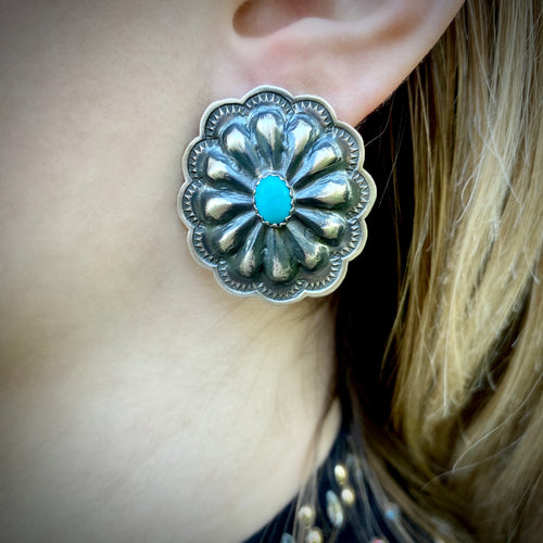 Authentic Concho Earrings