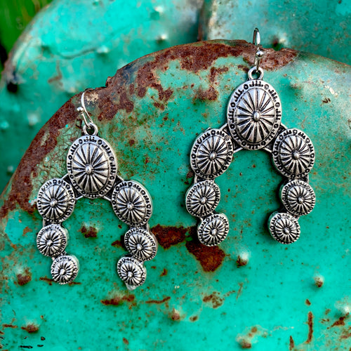 Concho Squash Earrings