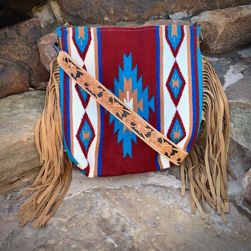 The Lakota Saddle Blanket Bag