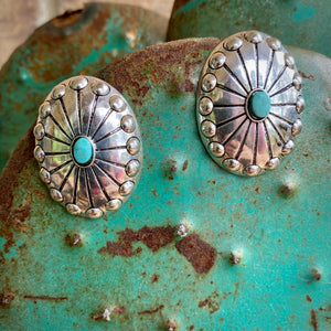 Conch Post Earrings