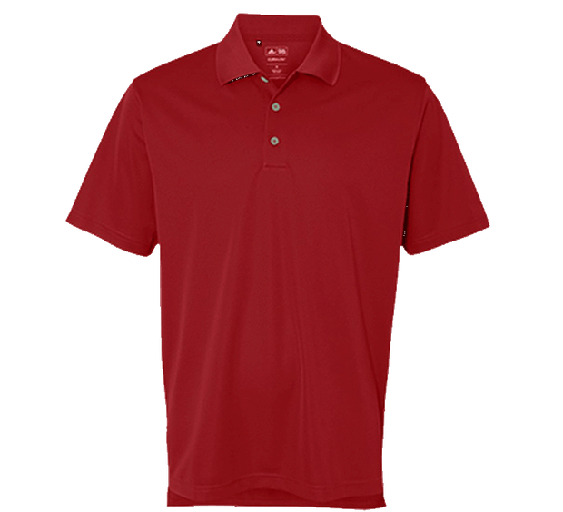 Customizable Adidas ClimaLite Performance Golf Polo
