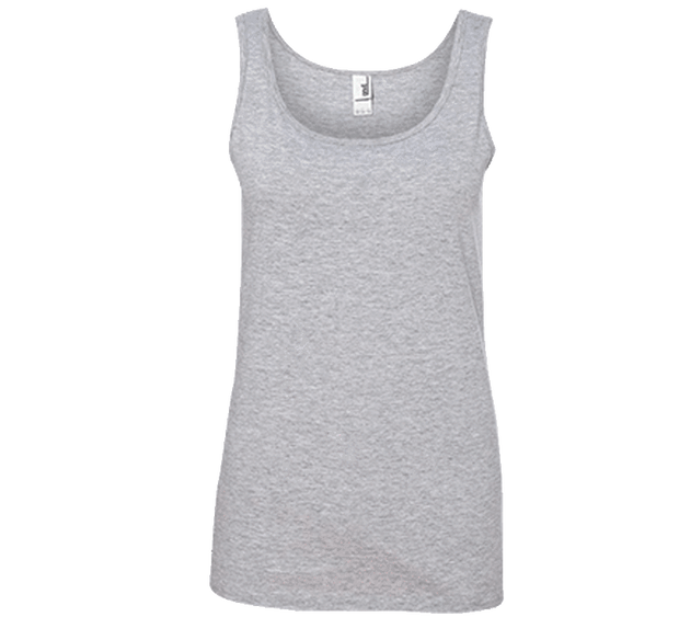 Customizable Anvil Ladies 100% Ringspun Cotton Tank Top