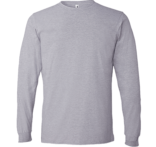 Customizable Anvil Men's Lightweight Long Sleeve T-Shirt