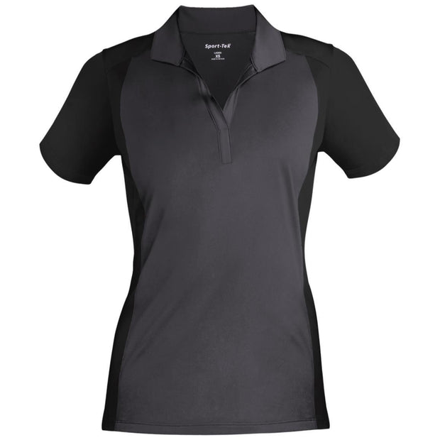 Sport-Tek Ladies' Colorblock Sport-Wick Polo