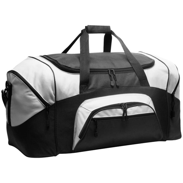 Port & Co. Colorblock Sport Duffel