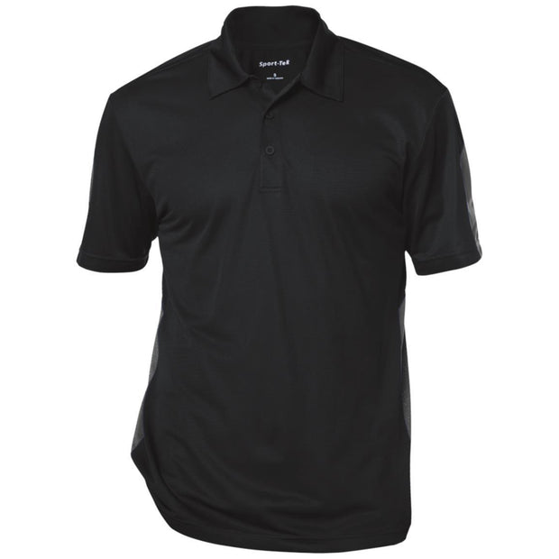 Sport-Tek Performance Textured Three-Button Polo