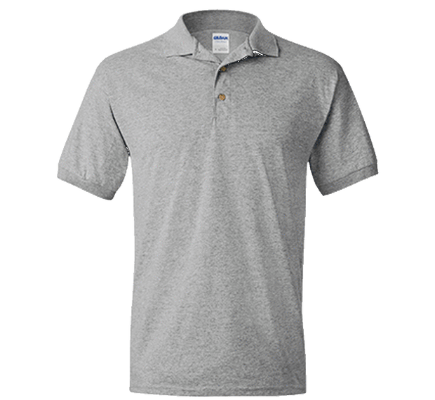 Customizable Gildan Jersey Polo Shirt