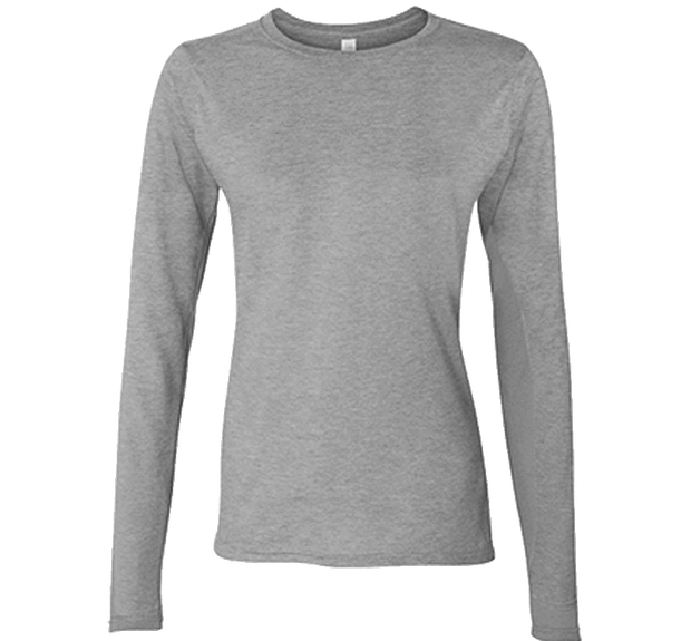 Customizable Gildan Ladies Softstyle Long Sleeve T-Shirt