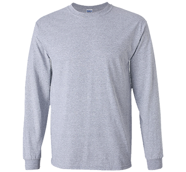 Customizable Gildan Men's Long Sleeve T-Shirt