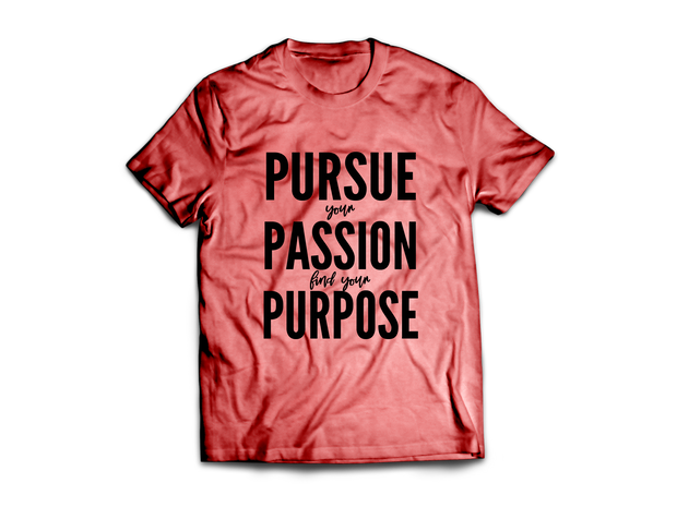 Pursue. Passion. Purpose.