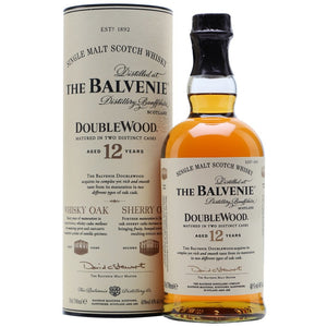 Balvenie Doublewood Single Malt Scotch 12 Year Old