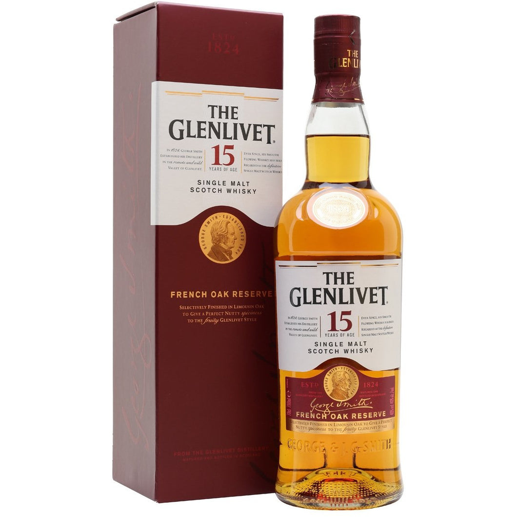 The Glenlivet 15 Years of Age