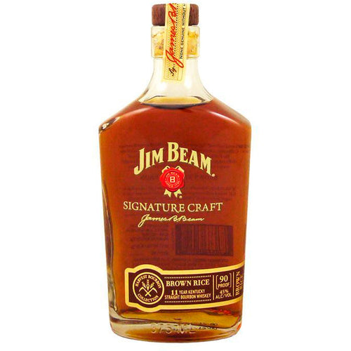 Jim Beam Signature Craft Brown Rice Straight Bourbon Whiskey Aged 11 Years