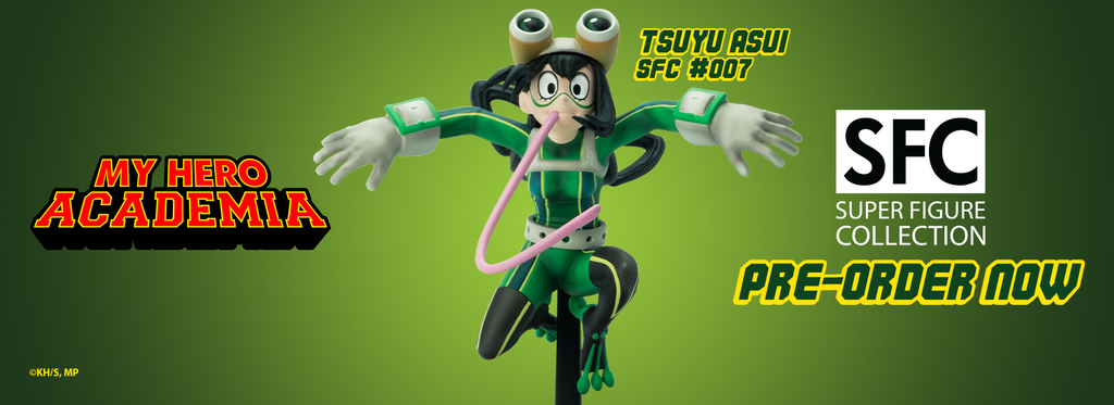 My Hero Academia Tsuyu Asui collectible SFC figurine