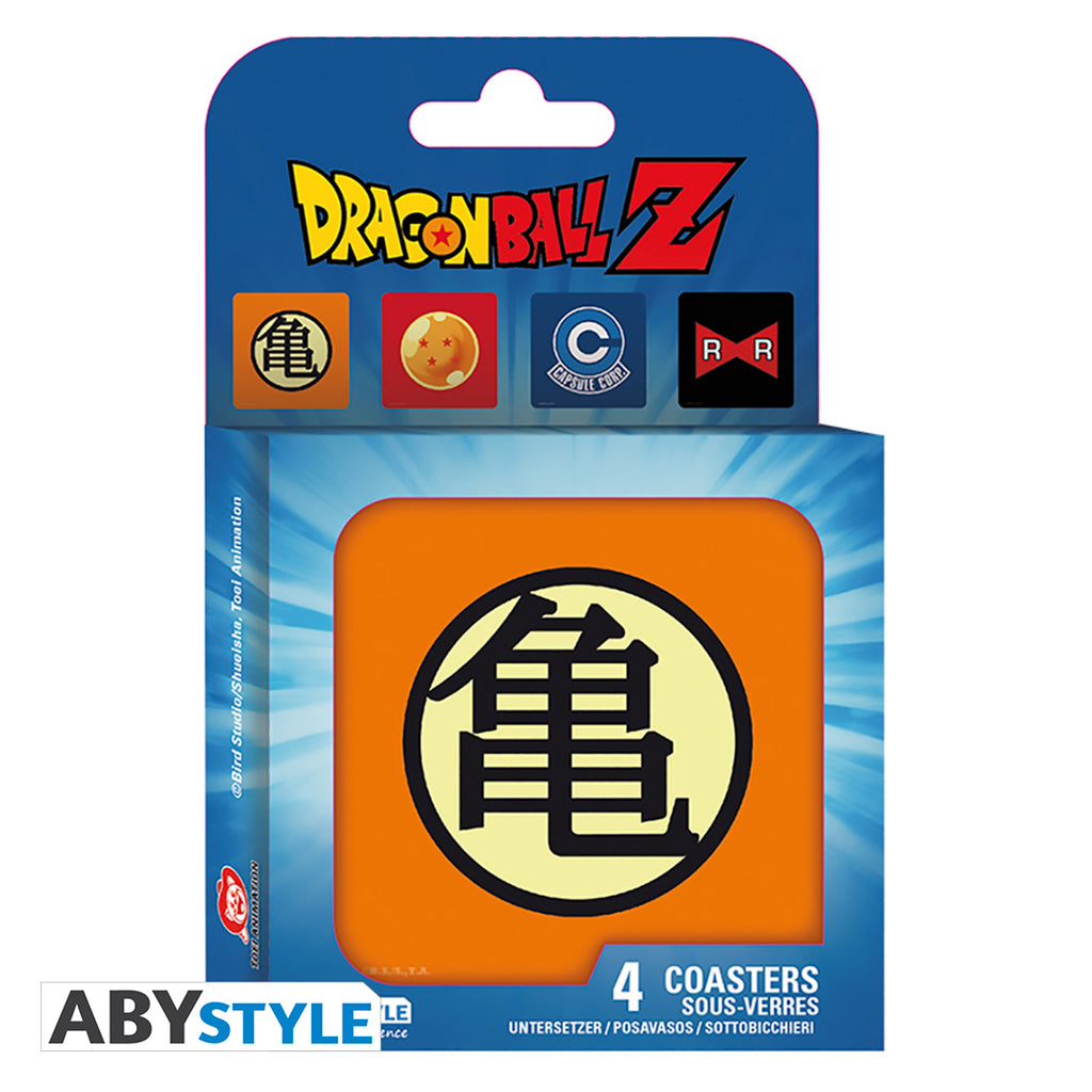 Dragon Ball Z - 4 Pc. Coaster Set