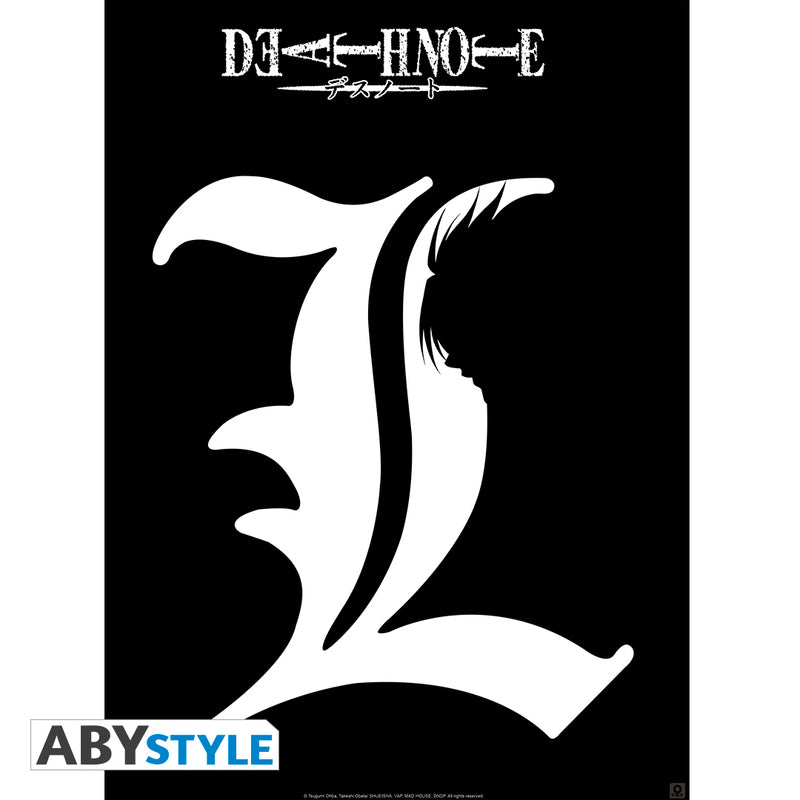 "Death Note - ""L"" Silhouette Mini Poster"